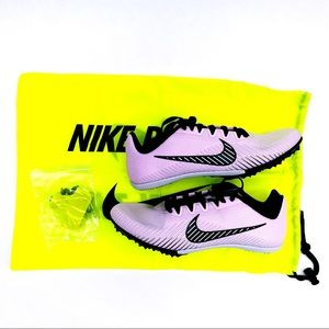 🆕 Nike Womens Zoom Rival M 9 Track Spikes Shoes